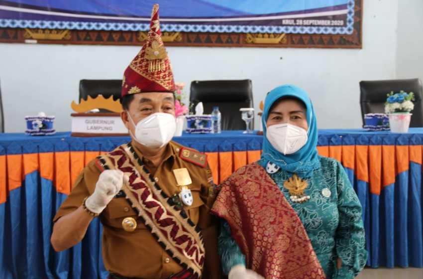 Gubernur Lampung Hantarkan Pjs Bupati Pesisir Barat