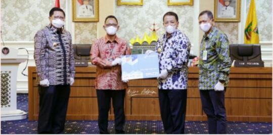 Gubernur Lampung Teken MoU sama Pertamina dan BRI