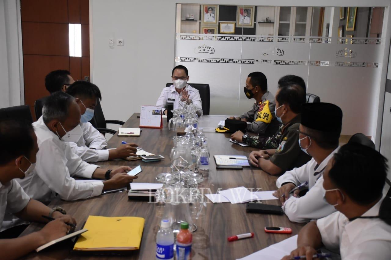 Pemerintah Daerah Kabupaten Way Kanan menggelar Rapat Koordinasi Persiapan Vaksinasi Covid-19
