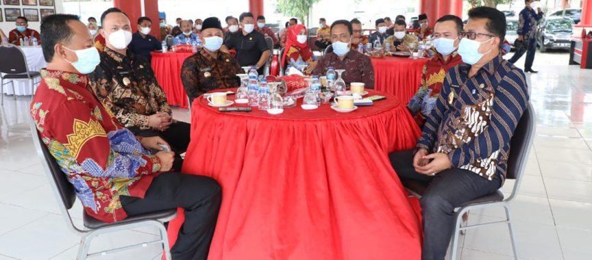 Silaturahmi Dengan DPRD Lampung Selatan, Begini Kata H. Nanang Ermanto