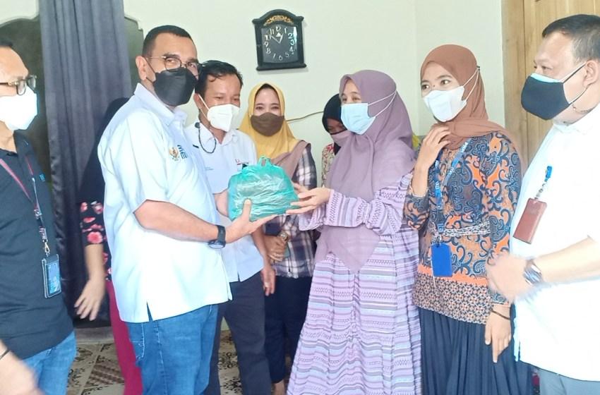 Staff Khusus Menteri BUMN Arya Sinulingga Menyapa Insan PNM dan Nasabah PNM Mekaar Lampung