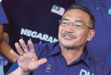 Photo of Hishammuddin dilantik Bendahari Agung BN