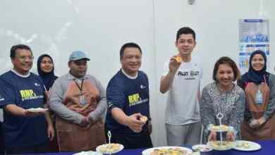 Photo of Raja Puan Muda Perlis rasmi pusat latihan dan bimbingan keusahawanan Kolej Komuniti Raub