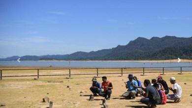 Photo of Air tasik Empangan Pedu surut, kubur lama 'muncul' kembali
