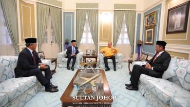 Photo of Covid-19: PM mengadap Sultan Johor