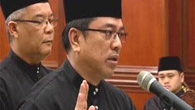 Photo of ADUN Lendu angkat sumpah Ketua Menteri Melaka