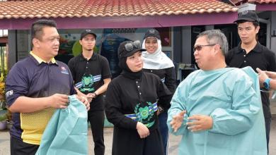 Photo of Raja Muda Perlis saksi penyerahan peralatan PPE