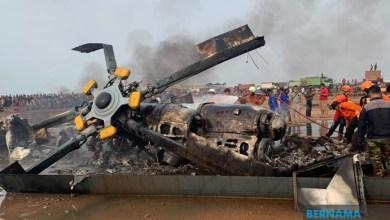 Photo of Helikopter M1-17 Tentera Indonesia terhempas, empat terbunuh