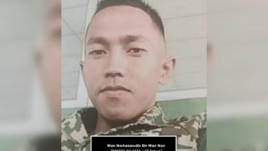 Photo of Polis cari tentera hilang