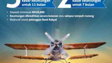 Photo of Bank Rakyat lancar kempen deposit 7 bulan, 11 bulan