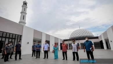 Photo of Muhyiddin tinjau Masjid Haji Muhammad Yassin di Pagoh
