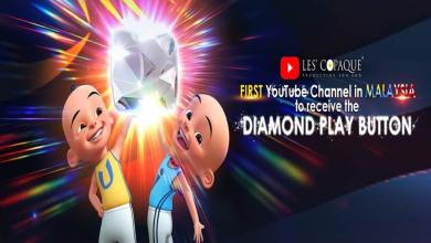 Photo of Pencipta Upin Ipin dapat 'Diamond Creator Award'