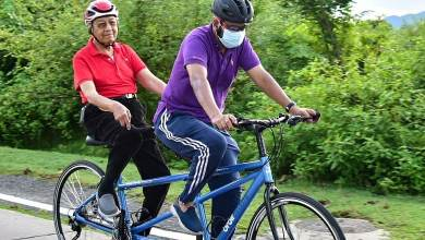 Photo of Perkenal Cycling Tourism di Langkawi – Tun Mahathir