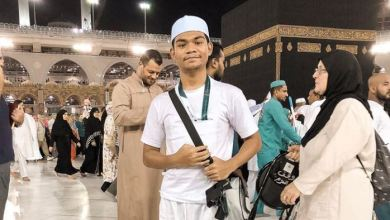 Photo of Air mata Zynakal menitis di depan Kaabah