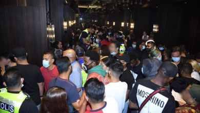 Photo of 183 ditahan langgar PKP dalam pusat hiburan tanpa lesen