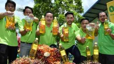 Photo of Onsoi minyak masak sawit dalam paket plastik lebih murah