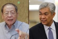 Photo of Kit Siang persoal mengapa Ahmad Zahid sokong PN