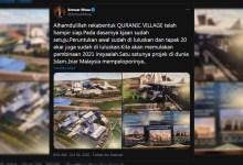 Photo of Kerajaan dikecam luluskan projek Quranic Village