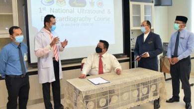 Photo of 100 sertai webiner kursus Ultrasound dan Enchocardiography kebangsaan