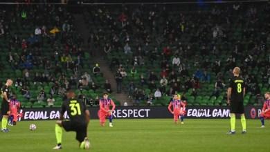 Photo of Hanya empat pemain Krasnodar melutut sokong Black Lives Matter