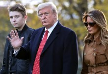Photo of Anak lelaki bongsu Trump yang positif Covid-19 kini diuji negatif