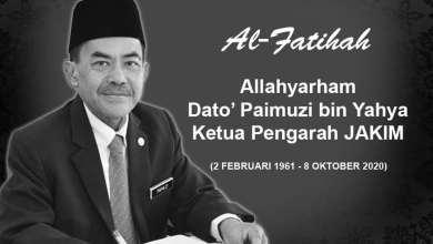 Photo of KP Jakim meninggal dunia akibat komplikasi jantung