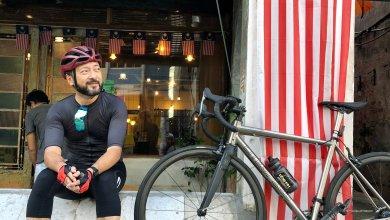 Photo of Mukhriz pun kayuh basikal