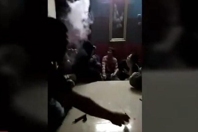 Rekaman Tersembunyi, Diduga Napi Pesta Narkoba Dalam Lapas Cipinang