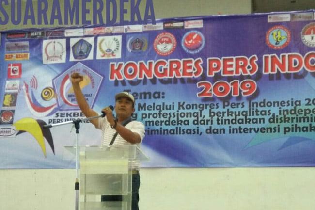 Kongres Sekertariat Bersama Pers 2019 Lahirkan Dewan Pers Indonesia