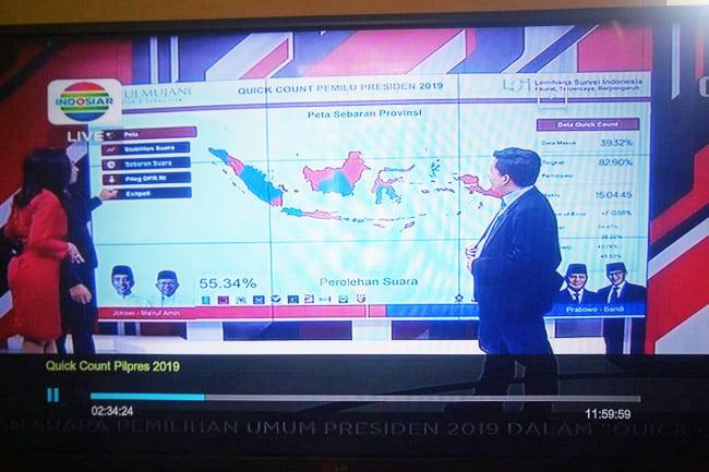 Setelah MetroTV Klarifikasi, Quick Count Indosiar Menyusul? LSI