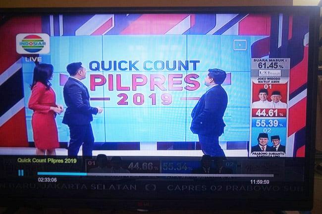 Setelah MetroTV Klarifikasi, Quick Count Indosiar Menyusul?