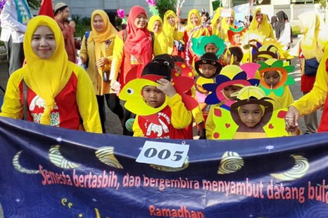 Tarhib Ramadhan Jakarta Islamic Centre, Gembira Songsong Ramadhan