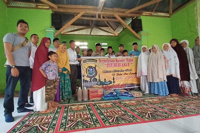 FB Safari Ramadhan Intelkam Polres Muna Sambangi Ponpes di Labunti