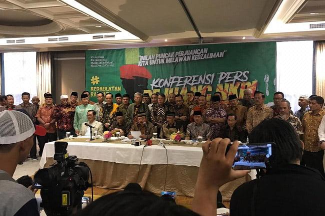 Front Kedaulatan Bangsa: Sejumlah Jenderal Akan Ikut Aksi 22 Mei