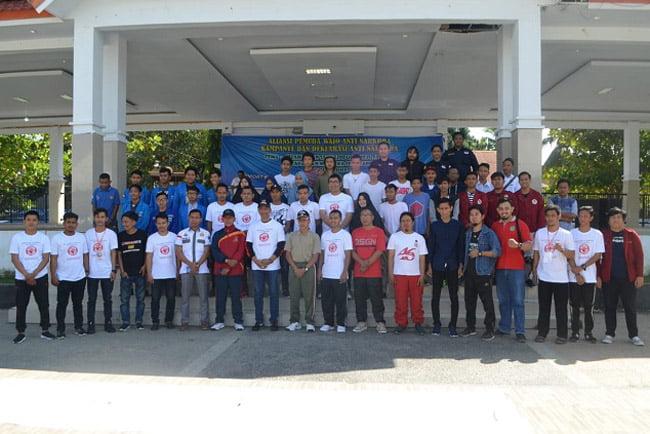 Aliansi Pemuda Kabupaten Wajo Deklarasi Anti Narkoba
