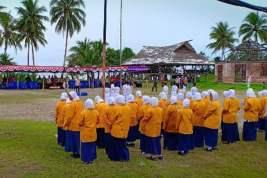 Pemuda Muhammadiyah Peringati HUT RI di Kampung Skouw Mabo