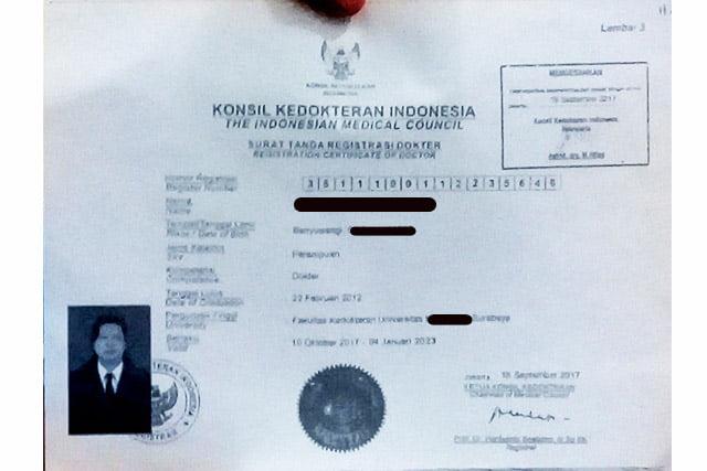 Direktur RSUD Blambangan: Dokter Aspal ADW Akui Palsukan Dokumen