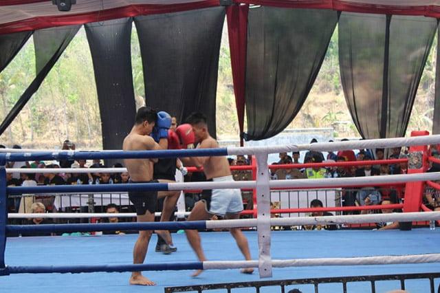Kejuaraan National Kick Boxing Digelar di Bantarkawung