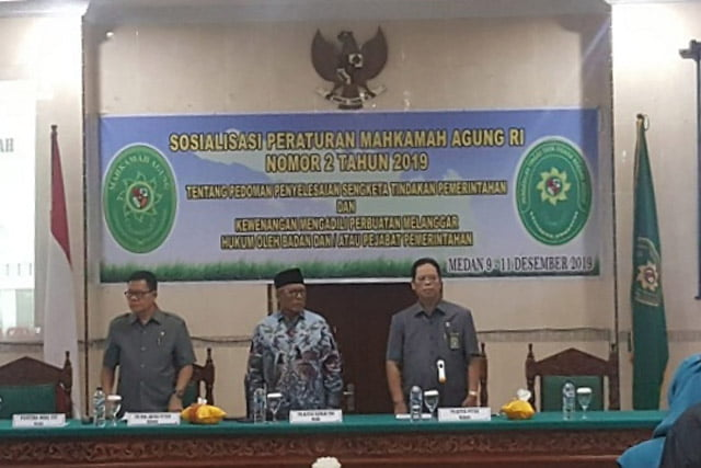 Sosialisasi Perma Nomor 2 Tahun 2019 di PT TUN Medan