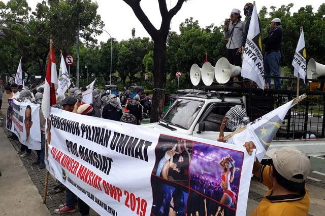 GPI Jakarta Raya: Gubernur Pro Maksiat, Djakarta Warehouse Project Konser Maksiat