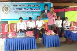 Masa Reses, Junaedi Muhammad Kunjungi Konstituen di Majauleng