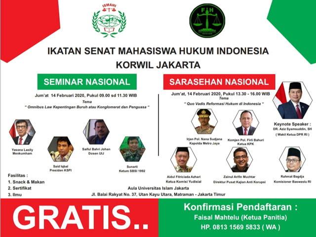 Konferwil Ismahi Jakarta
