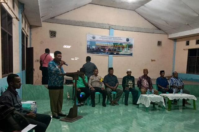 Kampung Lilinta Raja Ampat Gelar Musyawarah Kampung RKPK 2020