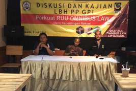LBH PP GPI Minta DPR Serius Libatkan Seluruh Elemen Mengkaji Omnibus Law