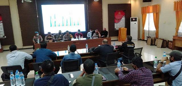 Polres Melawi Gelar Konferensi Pers Akhir Tahun 2020