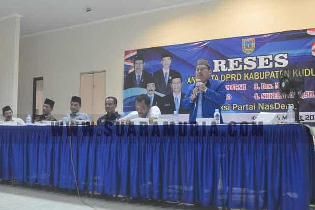 Usulan Infrastruktur hingga Tunjangan Guru Warnai Reses Fraksi Nasdem