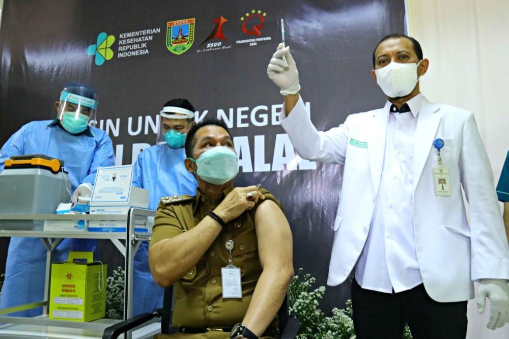 vaksinasi kedua