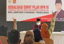 Photo of Moekhlas Sidik Sosialisasi Empat Pilar di Kabupaten Pasuruan