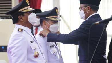 Photo of Gubernur Nurdin Abdullah Resmi Lantik 11 Kepala Daerah di Sulsel