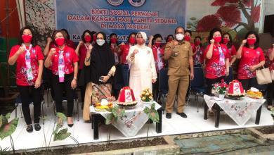 Photo of Peringati Hari Perempuan Sedunia, Perwanti Sulsel Salurkan Ratusan Bantuan Paket Sembako